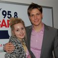 Kevin Hughes with Diana Vickers