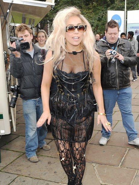 Lady gag in London