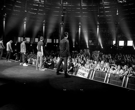 the wanted itunes festival