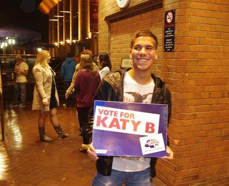 Katy B at the BIC