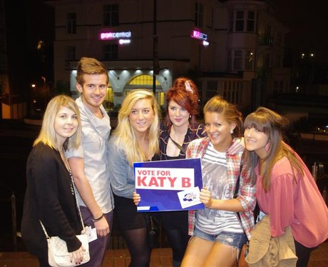 Katy B at the BIC