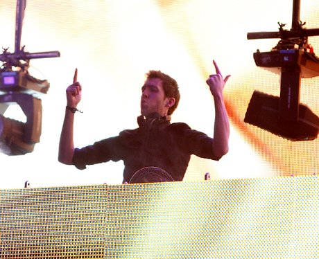 Calvin Harris live at the 2011 Jingle Bell Ball