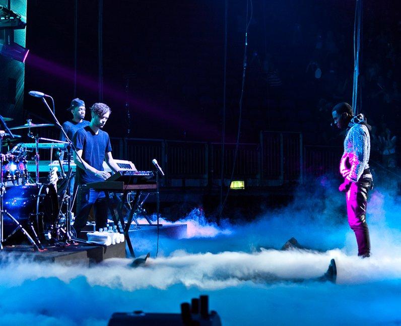 Jason Derulo live at the 2011 Jingle Bell Ball