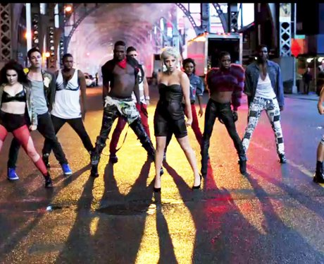 Lady Gaga in a still from her 'Marry The Night' video