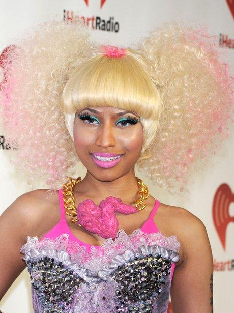 Nicki Minaj Blonde Curly Hair Wig 115