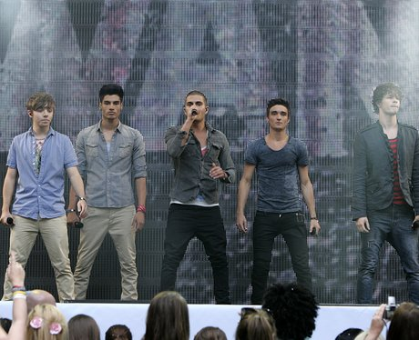 The Wanted at the 2011 Summertime Ball At Wembley Stadium