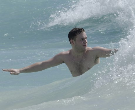 Olly Murs in the sea
