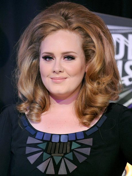 Adele arrives at an awards ceremony in 2011.