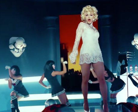 Madonna Give Me All Your Luvin' Video