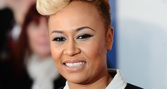 Emeli Sande arrives at the BRIT Awards 2012