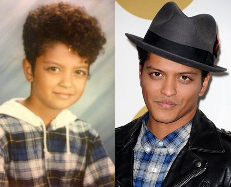 Celebrities when they were kids before and after