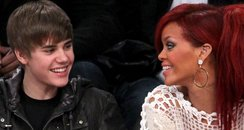 Rihanna and Justin Bieber