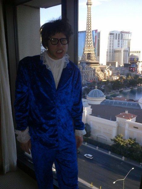 Olly Murs as Austin Powers