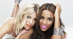 Rochelle Wiseman and Mollie King in Cosmopolitan