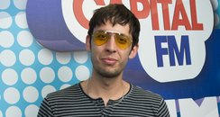 Example backstage at the Summertime Ball 2012