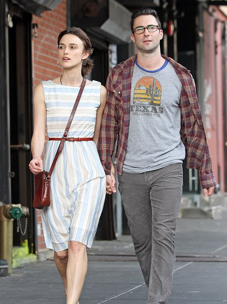 Kiera Knightley and Adam Levine
