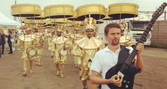 Muse warming up