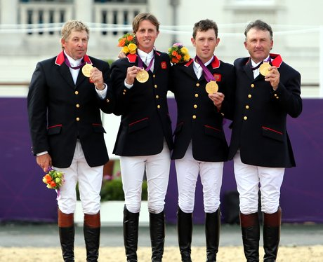 Team Gb Win Olympic Gold In The Equestrian Team Jumping
