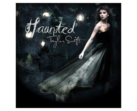 Taylor Swift Haunted artwork