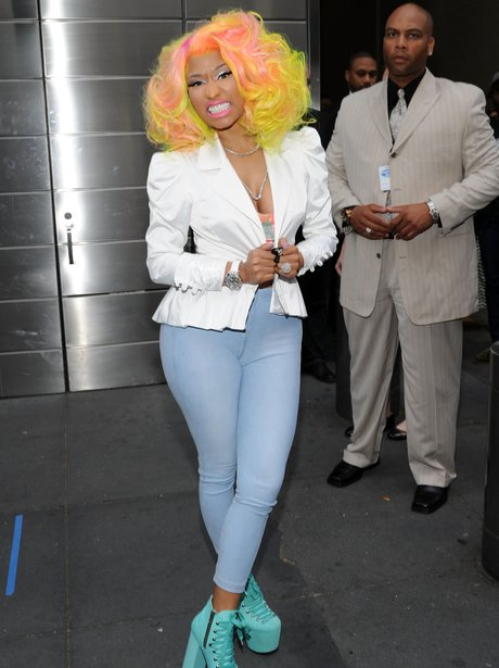 Nicki Minaj at American Idol Photo Call