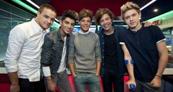 One Direction at Capital FM Breakfast Show inn Lon