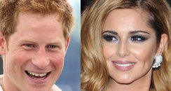 Cheryl Cole and Prince Harry