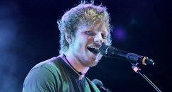 Ed Sheeran performs in London