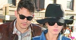 Katy Perry and John Mayer in Manhattan