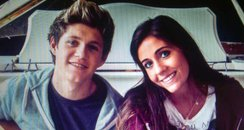 Niall Horan and Amy Green