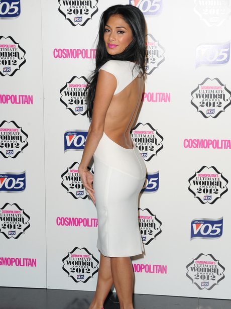 Nicole Scherzinger attends The Cosmopolitan Ultimate Woman Of The Year Awards.