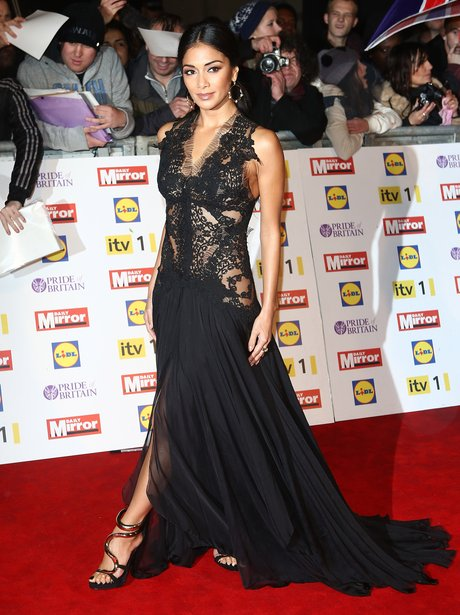 Nicole Scherzinger red carpet at Pride Of Britain Awards