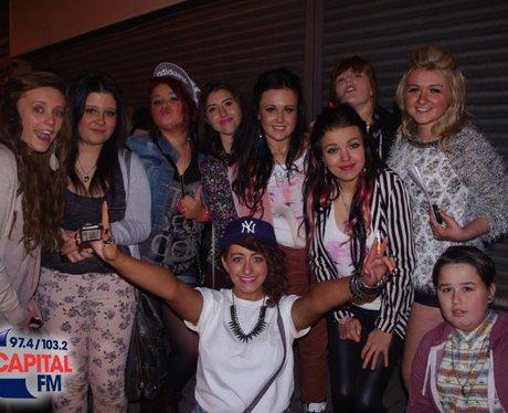 Team Minaj in Cardiff