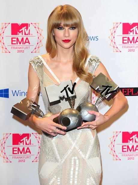 Taylor Swift MTV Europe Music Awards 2012