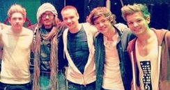One Direction and Johnny Depp