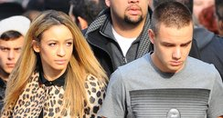 Liam Payne and Danielle Peazer in America