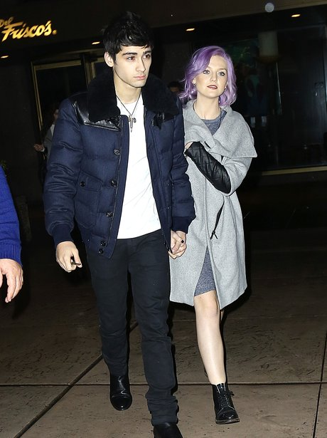 Perrie Edwards and Zayn Malik in New York