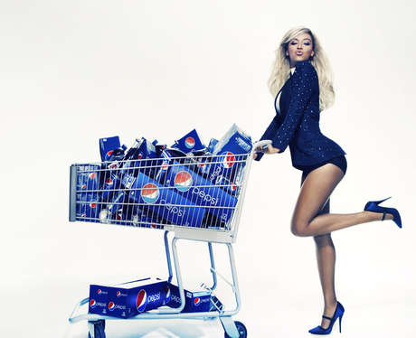 Beyonce's Pepsi promo campaign advert