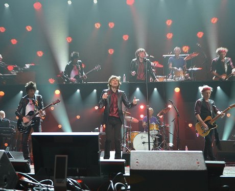 The Rolling Stones perform on their reunion world tour