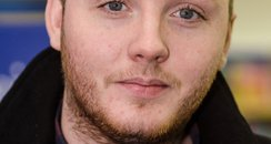 James Arthur meets fans and signs copies of his bo