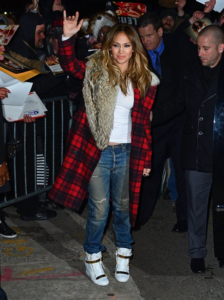 Jennifer Lopez at the Daily Show in America