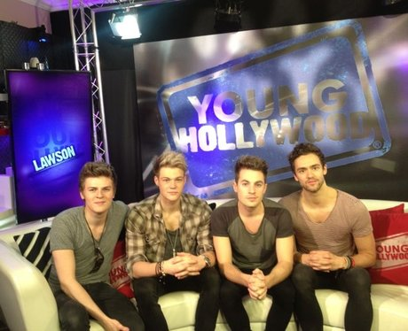 Lawson in their first ever interview in America