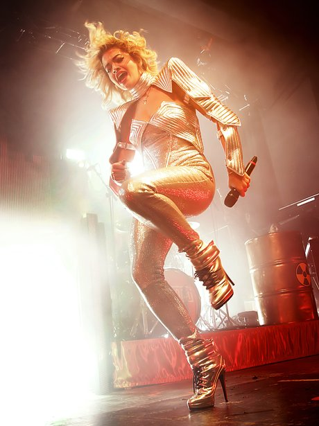 Rita Ora performs on her 'Radioactive' UK tour