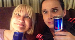 Katy Perry and Sia Twitter 2013