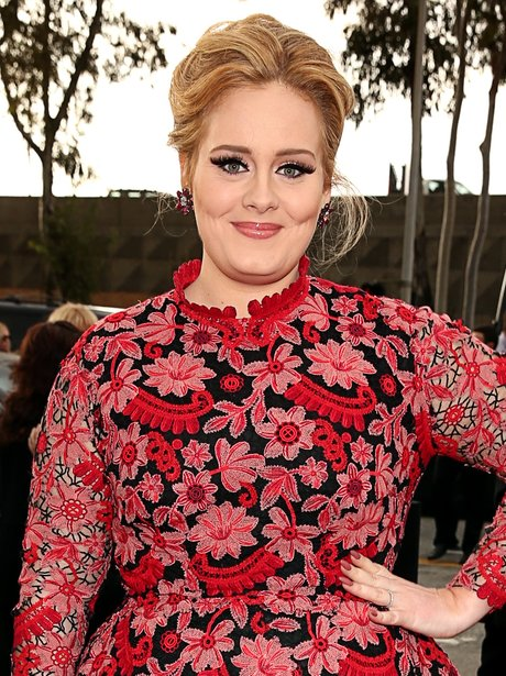 Adele at the Grammy Awards 2013