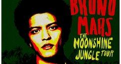 bruno mars tour poster