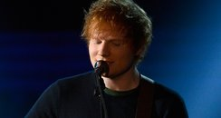 Ed Sheeran live at the 2013 Grammy Awards