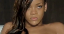 Screenshot of Rihanna's Stay music video