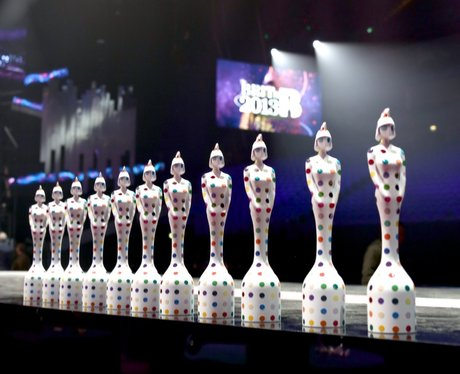 BRIT Awards 2013: Backstage