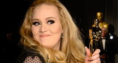 Adele at the Oscars 2013 Governors Ball