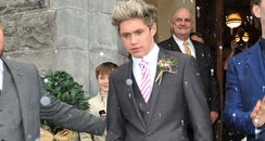 Niall Horan at his brothers wedding